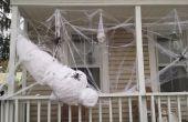 Une victime de Spider grandeur nature