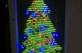 Arbre de Noël LED clignotant (sans programmation) !