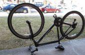 Comment raccorder un Tube de bicyclette de Presta Valve pneu avant