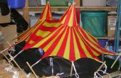 Scène tente de cirque