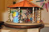 Carrousel de jouet commandé servo