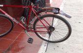 Garde boue vélo de blind pvc