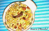 Spicy puffed rice - une collation santé libre de gluten