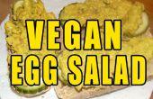 Salade aux oeufs de Vegan 10 minutes
