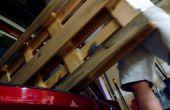 Flottant plateau Station de chargement de palettes bois