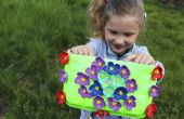 DIY Bag de plaques recyclés | DIY Craft pour les petites filles