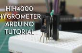 HIH4000 humidité, tutoriel capteur hygromètre