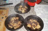 Braisé de queue de bœuf en Valpolicella (servi avec pommes de terre spectacle)