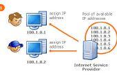 Affectant l'adresse IP externe statique