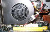 Floppy Powered PCI Slot cas Fan