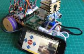 """Prototype de Station mobile pour la Capture de données environnementales (""""un émulateur de Mars Rover"""")"""