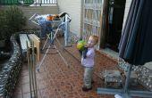 Panier de basket ajustable pour les enfants