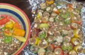 Côtes de Chipotle Jamaicajun & Ribeye emport poivrons