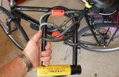 Comment monter un vélo lourd U Lock avec un support de bricolage