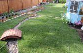 Restaurer une arrière-cour avec sols morts (avant et après)