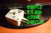 Commutateur audio simple 3,5 mm