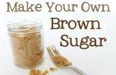 Succédané de sucre brun | Faire la cassonade à la maison