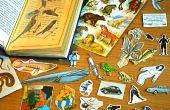 Recycler les vieux livres sur autocollants