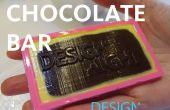 Moulé de barres de chocolat