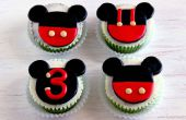 Comment faire Mickey Mouse Cupcake et Cake Toppers