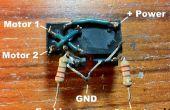 Contrôle de moteur facile et réversible pour Arduino (ou n'importe quel microcontrôleur)