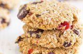 Biscuits à l'avoine au chocolat sans farine