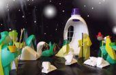La Nativité orthodoxe, message de Gabriel dans une bouteille en plastique