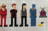 Farscape Cross Stitch : Saison deux personnages