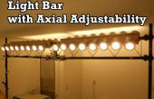 Barre lumineuse avec réglage Axial