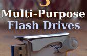 3 personnalisé Pen Drives | Multi-Purpose