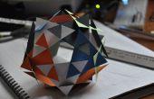 Dodécaèdre de papier modulaire