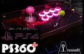 Jouer sur PS4 avec votre mod PS360 + Arcade Stick/lutte Stick