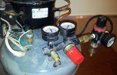 Super silencieux compresseur construit sur un vieux réfrigérateur/eau refroidisseur