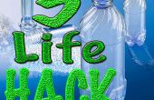 5 idées avec des bouteilles en plastique #2