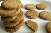Micro-ondes sans oeufs Ajwain Cookies