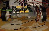 Programmable Robot voiture utilisant Mediatek LinkIt une planche et L293D Motor Driver IC