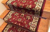 Tiges d'escalier en bois pour un coureur de tapis