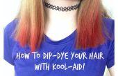 Comment Dip-Dye vos cheveux avec Kool-Aid