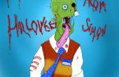 Simon le zombie w / Sketchbook Pro 5 et Wacom