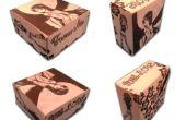 Coffret cadeau personnalisé Origami