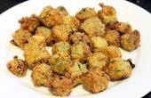 Receta para hacer el perfecto quimbombó frito (gombo frita)