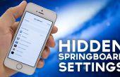 Options de Springboard iOS 7 cachée : Comment tourner eux sur [iPhone 5 Jailbreak nécessaire]