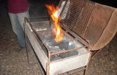 Moyen facile pour allumer le feu de charbon végétal (sans faire exploser). una forma facil de encender fuego al carbone végétal (sin soplar)