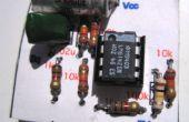 Une carte de Circuit imprimé sans soudure