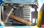 Poche de bricolage bricoleur taille boîte à outils, Feat. Accueil fait tournevis