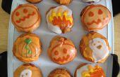 Pain frit sur le thème Halloween