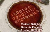 "Turkish Delight ""brownie"" Pie w flottante binaire de Pi"