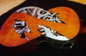 Guitares de décorer facilement sans devoir enlever la laque.