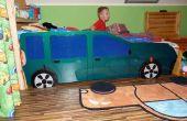 Transformer lit en voiture - anti écran bambin:)