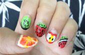 Fruits bricolage Nail Designs